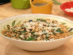 Creamy Mushroom and Herb Sauce with Whole Grain Pasta Recipe