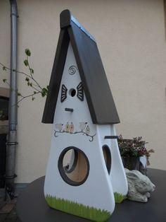 Gartendekoration - Wunderschönes Vogelhaus für Ihren Garten - ein Designerstück von inse-10 bei DaWanda