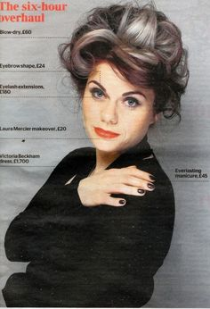 Caitlin Moran makeover shoot