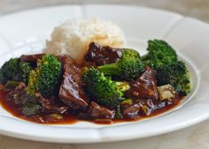 Beef with Broccoli . TESTED & PERFECTED RECIPE – This beef with broccoli is perfect for when you're craving Chinese food but don't want to go out.Beef With Beef With Broccoli Recipe, Broccoli Beef, Broccoli Recipes, Brocolli, Parmesan Recipes, Asian Recipes, Beef Recipes, Cooking Recipes, Chinese Recipes