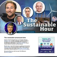 Guests in The Sustainable Hour on 17 October 2018 are Damien Cole – a surfer, campaigner against oil drilling in the Bight and independent South Barwon candidate in the November state election – an… Walk To School, Arnold Schwarzenegger, Economics, Professor, Sustainability, Drill, November, Australia