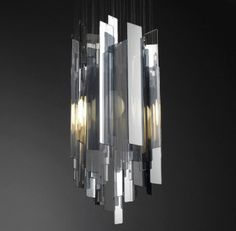 Miranda Watkins - Acrylic, Stainless Steal and Nickel Plated Light