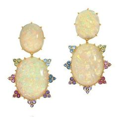 #multi #color #Tourmaline #earrings from @amsterdamsauer