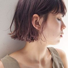 19 Hottest Asymmetrical Bob Haircuts for 2019 For Women - Style My Hairs Red Bob Hair, Line Bob Haircut, Asymmetrical Bob Haircuts, Bob Hairstyles For Fine Hair, Hair Arrange, Salon Style, Hair Images, Shiny Hair, Hair Trends