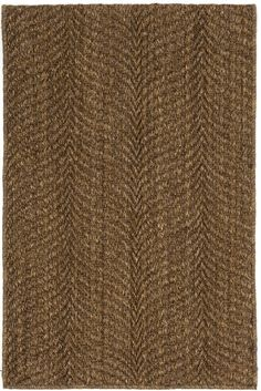 #DashandAlbert Wave Bark Sisal Woven Rug. Catch the all-natural wave with this substantial and stylish woven sisal rug, made from an eco-friendly plant fiber. Perfect for adding a rustic touch to high-traffic areas.