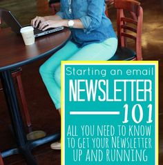 How to Start an Email Newsletter - All you need to know to get your newsletter up and running.