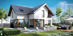NV-PR-002925 - zdjęcie od Novio.pl Projekty domów - Domy - Styl Nowoczesny - Novio.pl Projekty domów