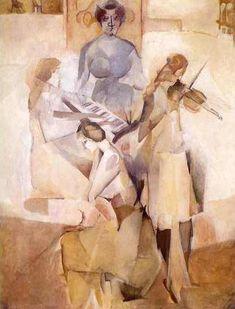 Canal~Art  « La sonate » Tableau de Marcel Duchamp