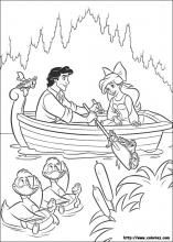 The Little Mermaid coloring pages on Coloring-Book.info