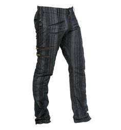 Jan Hilmer Strait Shot Pants - Dark Stripe