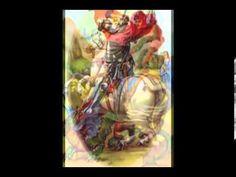 ♪ Zeca Pagodinho ~ Pra São Jorge ♪ ♪Vou acender velas para São Jorge A ele eu quero agradecer E vou plantar comigo-ninguém-pode Para que o mal não possa então vencer Olho grande em mim não pega Não pega não Não pega em quem tem fé No coração Ogum com sua espada Sua capa encarnada Me dá sempre proteção Quem vai pela boa estrada No fim dessa caminhada Encontra em Deus perdão ♪