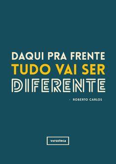 Versoteca | Roberto Carlos - Se Você Pensa ...