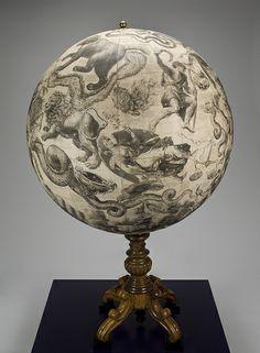 Celestial sphere. European celestial globe (view 1), 1878