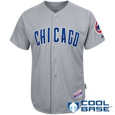 Chicago Cubs Authentic Road Cool Base Jersey - MLB.com Shop