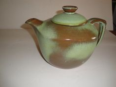 Beautiful Prairie Green Frankoma Pottery by moretreasuresfouryou