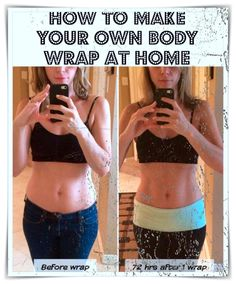 "Nowadays, in the pursuit of beauty, we women have to resort to different methods of beautification. The term ""body wrapping"" is well known to you, thanks to the effective results, seen in just a few weeks. To save time and money, I recommend a few body wraps that you can do at home. Healthy Detox, Healthy Drinks, Healthy Recipes, Weight Training Workouts, Easy Workouts, Wrap Recipes, Sweet Recipes, Homemade Body Wraps, Home Body Wraps"