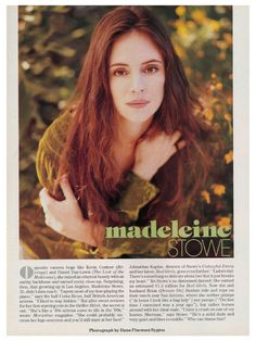 the beautiful MADELEINE STOWE - The best Madeleine Stowe Images, Pictures, Photos, Icons and Wallpapers on RavePad! Ravepad - the place to rave about anything and everything! Jennifer Lawrence, Michelle Trachtenberg Hair, Madeleine Stowe, Celebrity Makeup Looks, Michelle Phan, Daniel Day, Day Lewis, Mary Elizabeth Winstead, Kevin Costner