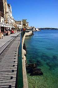 Villa Bianca: Ferienhaus in Syrakus Isola - Promenade am Meer in Syrakus - www.sicilia-ferien.de