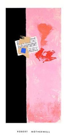 Sans Titre, c.1982 Print by Robert Motherwell at AllPosters.com
