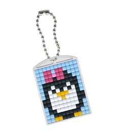 Penguin cross stitch. Bird cross stitch.