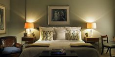 Another stunner from Leveson Design at Goodwood Hotel, cosy and inviting Hotel Breaks, Country Hotel, Hotel Suites, Luxury, House, Furniture, Design, Home Decor, Bedrooms