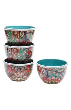 Free shipping and returns on POETIC WANDERLUST Tracy Porter® For Poetic Wanderlust® 'Folklore Holiday' Ice Cream Bowls (Set of 4) at Nordstrom.com. Combining an eclectic mix of birch embossing with folkloric prints, designer Tracy Porter creates earthenware inspired by the frosty beauty of winter. This set of brightly colored ice cream bowls is perfect for everyday use or festive events.