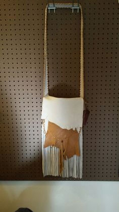 Elk Bag with Deer Hide Accents by Marsha Tate-Donnell