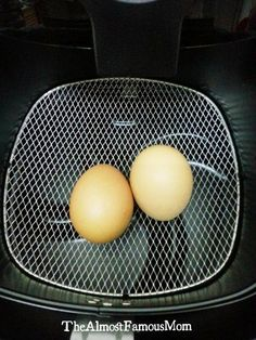 Using AirFryer to make hard-boiled egg! Is it possible? Will it explode in the AirFryer? My brain simply cannot contain the information I sa...