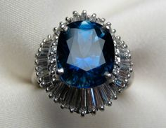 No where did I leave that extra $37,000 laying around...  European Collection: Fabulous Vintage 7.26 ct. Sapphire Ring   Isadora's