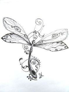 9 best dragonfly art images in 2016 Dragonfly Drawing, Dragonfly Tattoo Design, Dragonfly Art, Cute Tattoos, Body Art Tattoos, Tattoo Drawings, New Tattoos, Flash Tattoos, Small Tattoos