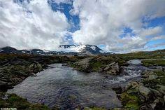 Jotunheimen National Park in Norway nature landscape