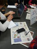 Savoirs CDI: Enseigner les compétences du 21e siècle à travers l'éducation aux médias et à l'information : le dispositif Marathon-presse