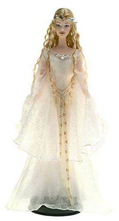 galadriel barbie doll, lord of the rings
