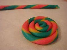 butter hearts sugar: Lollypop Cookies