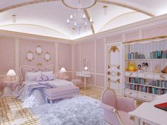 Beautiful Bedrooms, Room Design, Luxury Bedroom Design, Dream Bedroom, Luxurious Bedrooms, Fancy Bedroom, Mansion Bedroom, Girl Bedroom Decor, Dream Rooms