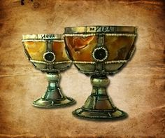 Chalices for the Fountain of Youth Pirates of the Caribbean