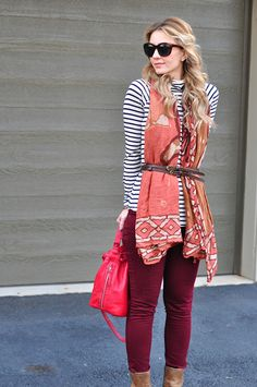 Chic of the Week: Mireille's Pretty Patterns