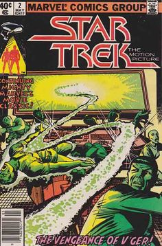 Star Trek The Motion Picture #2 Story by Marv Wolfman / Pencils by Dave Cockrum / Cover Art by Dave Cockrum