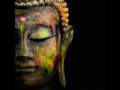 Celebrate the compassion and serenity practiced within Buddhism with this beautiful Four Panel Tranquil Buddha Print. The painting style, canvas print is a Buddha Kunst, Buddha Zen, Buddha Quote, Buddha Face, Meditation Musik, Learn Meditation, Deep Meditation, Buddha Canvas, Les Chakras