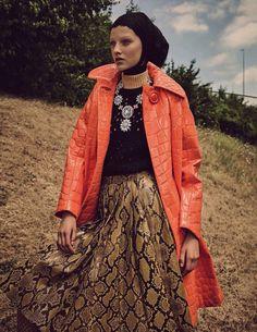 miss liberty: maartje verhoef by luigi + iango for vogue germany september 2015…