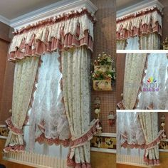 158 fantastiche immagini su tende tirolesi | Beautiful curtains ...