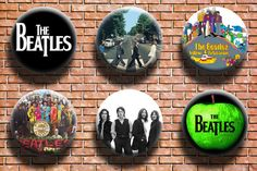 Hey, I found this really awesome Etsy listing at https://www.etsy.com/listing/243886140/the-beatles-125-inch-button-six-pack