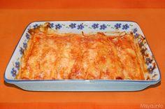 I cannelloni di crepes sono un primo piatto che adoro, si possono preparare in anticipo ed infornarli al momento opportuno, vanno bene per una cena tra amici