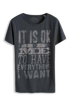 Davide Martini for Esprit / Vintage Jersey T-Shirt, 100% Baumwolle