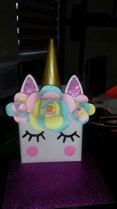 Caja de regalo unicornio
