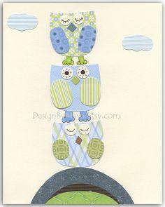 Baby boy Room wall art Decor Children Art print by DesignByMaya, $17.00