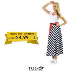 KAMPANYA TR1Shop.com'da Bayan Etekler'de İndirim Rüzgarı Esiyor. Bayan Kemerli Etek KDV Dahil Sadece 24.99 TL'ye sahip olabilirsiniz. Son fırsatlar kaçırmayın. Detaylı bilgi: http://goo.gl/OtVCez