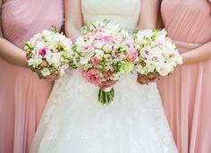 Pretty Pink Peonies and Pronovias for a Traditional English Wedding | Love My Dress® UK Wedding Blog  Lisa Carpenter Photography