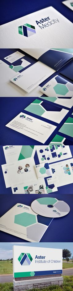 Aster Medcity by NH1 Design #medicalbrand #branding #brandinginspiration