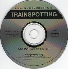 """For Sale - Iggy Pop Lust For Life USA Promo  CD single (CD5 / 5"""") - See this and 250,000 other rare & vintage vinyl records, singles, LPs & CDs at http://eil.com"""